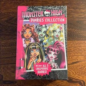 🧟‍♀️NEW Monster High Diaries Collection 🦹🏻‍♀️